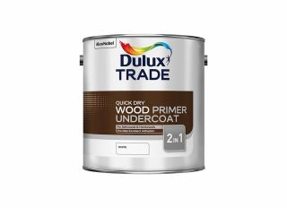 Dulux Trade Quick Dry Wood Primer Undercoat 2.5L