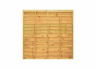 Grange Professional Lap Fence Panel Golden Brown 1830 x 1500mm GPL5