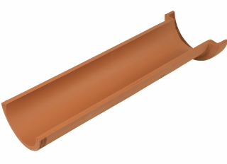 Hepworth CP2/1 Clay Channel Pipe 100x600mm