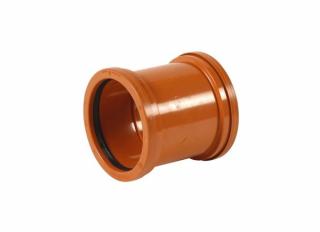 Polypipe UG400 Double Socket Slip Coupler 110mm