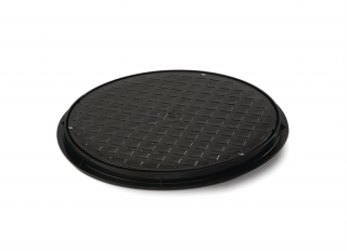 Polypipe UG511 Circular PP Cover And Frame 460mm Dia