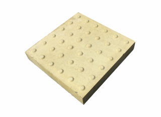Tactile Paving Slab Buff 450x450x50mm