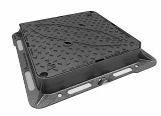 D400 MHCF 600x450x100mm D/Tri Ductile TriStar EN124 k/m DMT0D4/6045/KH