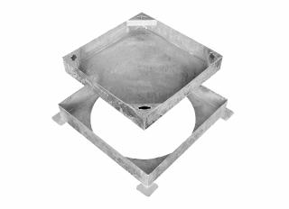 MHCF 300x300mm Sqr to Round Block Paving C281M/030030SCR