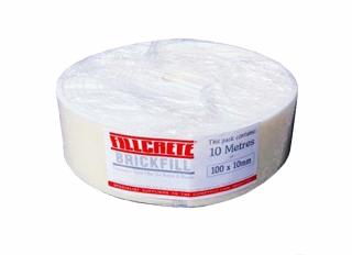 Fillcrete Brickfill Polyethylene Joint Filler Roll 10mmx100mmx10m
