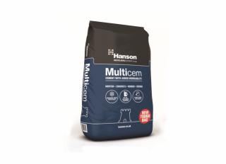 Hanson Castle Cement in Paper Bag 25kg