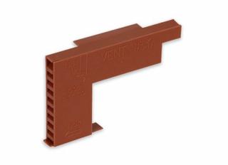 Glidevale Universal Hidden Weep/Weep Vent Terracotta GVMV650T