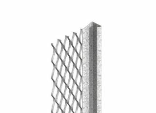 Expamet Standard Plasterstop Bead S/Steel 13mmx3m