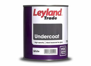Leyland Undercoat White 750ml