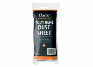 Harris Polythene Dust Sheet 12x12ft