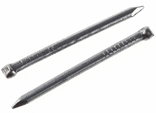 Bright Oval Brad Nails 50mm (500g per pk)