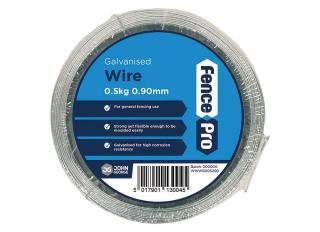 Wire Coil Galvanised 0.9mmx103m (500g)