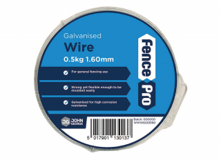 Wire Coil Galv 1/2kg :16swg/1.6mm