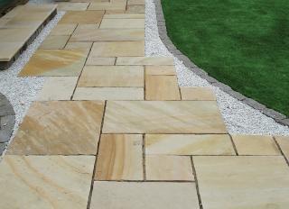 Global Stone Sandstone Paving Mint 855x570mm