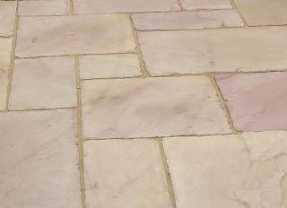 Global Stone Sandstone Paving Modak Rose 855x570mm