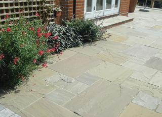 Global Stone Sandstone Paving York Green 285x285mm