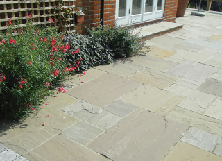 Global Stone Sandstone Paving York Green 570x432mm