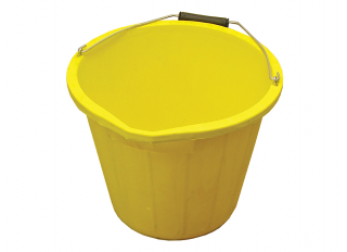 Faithfull Yellow Bucket 15L (3gal)