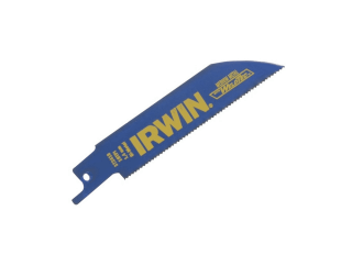 Irwin Sabre Saw Blades Metal Cutting 100mm (Pack 5) IRW10504148