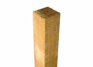 Green Treated Fence Post 75x75mm 2400mm