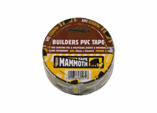Builders PVC Polythene Joint Tape 75mmx33m