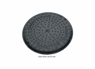Clark-Drain 450mm Dia Polypropylene PPIC Cover 3.5T Driveway CD452