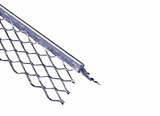 Expamet Angle Bead Stainless Steel (53mm Wing) 3m