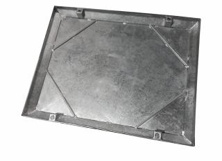 Wrekin MHCF 10T Galv Steel Rec Tray Rub Seal 600x450mm