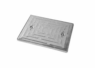 Wrekin MHCF 10T Galv Steel Single Seal Steel Frame 600x450mm