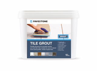 Pavestone Tile Grout Slate Grey 10kg