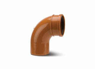Polypipe UG489 Bend Single Socket 87.5 Deg 110mm (4in)