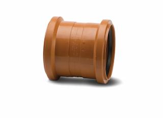 Polypipe UG402 Double Socket Coupler Polypropylene 110mm