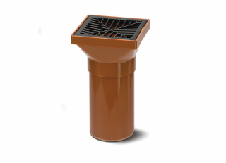Polypipe UG417 Square Hopper with 140mm Spigot End 110mm