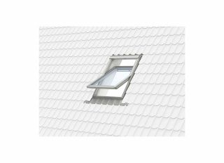 VELUX Centre Pivot White Poly 55x98cm GGU CK04 0070