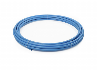 Polypipe 2550BU Blue MDPE Water Pipe 25mmx50m