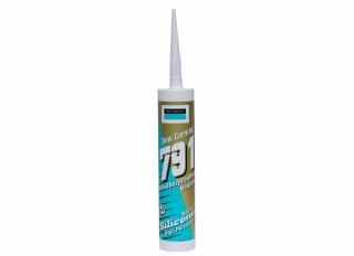 Dow 791 Weatherseal Silicone Sealant White 310ml