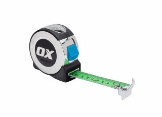 Ox Pro Tape Measure 8m (26ft)