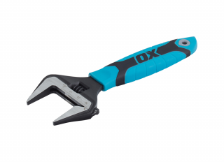 Ox Pro Adjustable Wrench Extra Wide Jaw 150mm (6in)