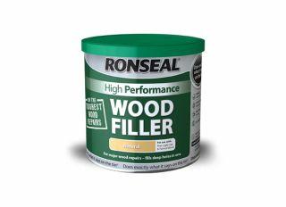 Ronseal High Performance Wood Filler White 1kg