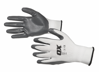 Ox Nitrile Flex Gloves Size 9 Large