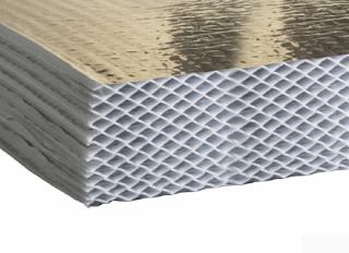 Actis Hybris Multifoil Insulation 1145x1200x105mm (5.496m2) (Pack 4)