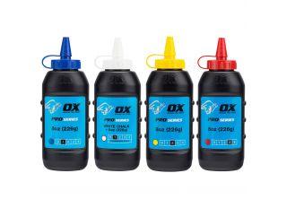 Ox Pro Chalk Refill Blue 226g