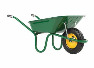 Haemmerlin Wheelbarrow Puncture Free Original Green 90L