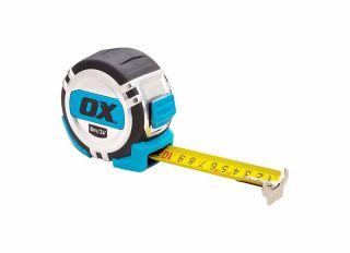 Ox Pro Tape Measure 8m Metric/Imperial