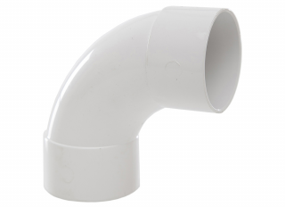 Polypipe WS52W 92.5 Deg Swept Bend White 50mm