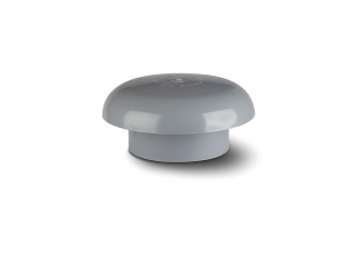Polypipe SCV40G Vent Cowl Grey 110mm