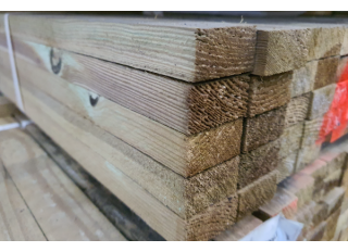 25x50mm Tile Batten Treated
