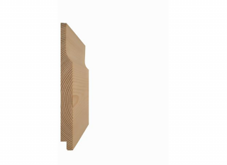 14x144mm (Nom 19x150mm) Redwood Shiplap Rebated FSC