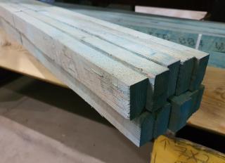 25x50mm Blue Treated Tile Batten (BS5534)